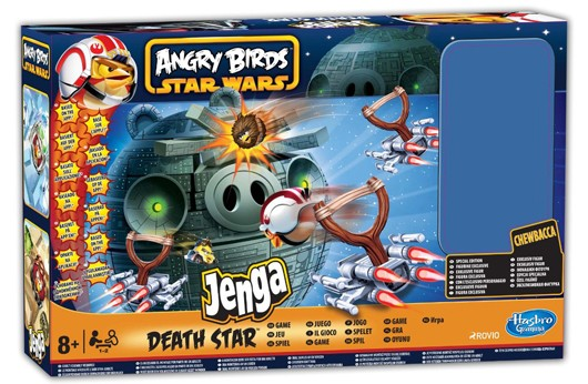 Jogo de tabuleiro do Angry Birds Star Wars