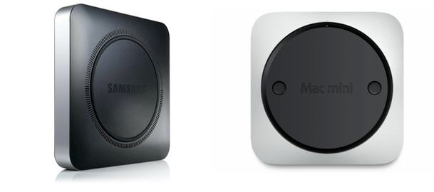 Computador da Samsung bastante similar ao Mac mini