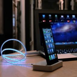 Dock e cabo Lightning da iPhone5mod