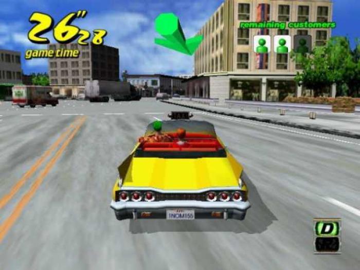 Miniatura do vídeo do Crazy Taxi