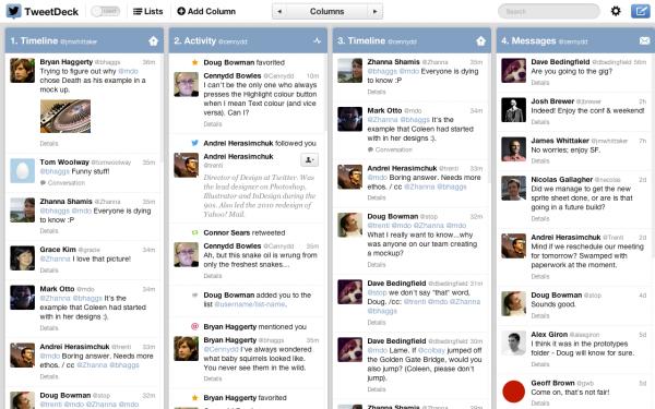 TweetDeck para Macs