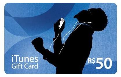 Gift Card em reais (R$)
