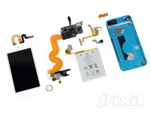 iPod touch desmontado pela iFixit