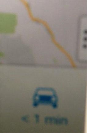 Foto borrada do Google Maps para iOS em alpha