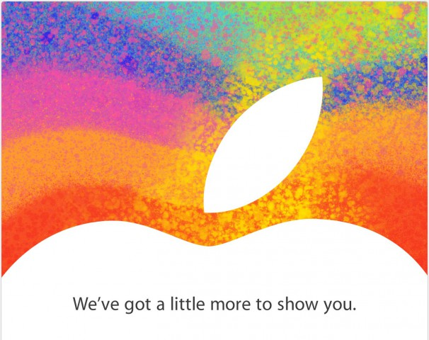 "Convite do evento da Apple (""iPad mini"")"