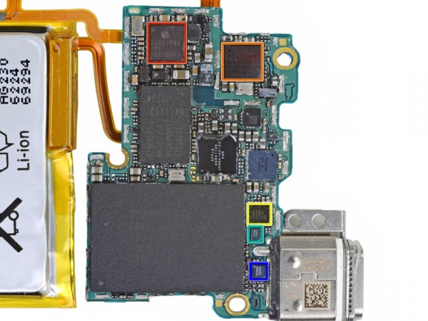Desmontagem do iPod nano pela iFixit