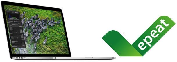MacBook Pro com tela Retina aprovado pela EPEAT