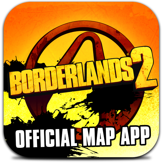 Ícone do Borderlands 2 Official Map App
