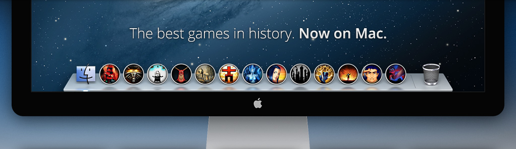 GOG.com vendendo jogos para OS X