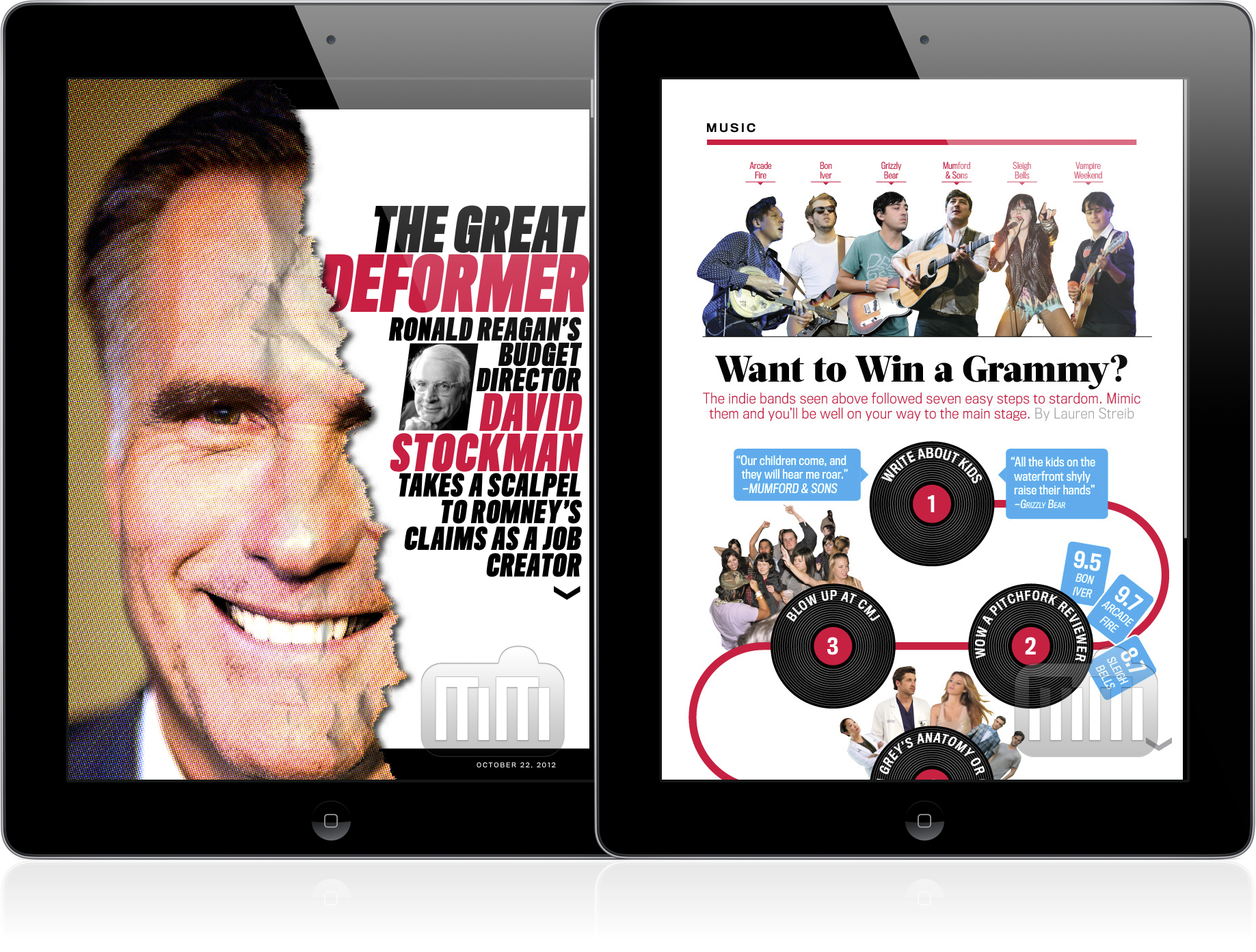 Newsweek em iPads