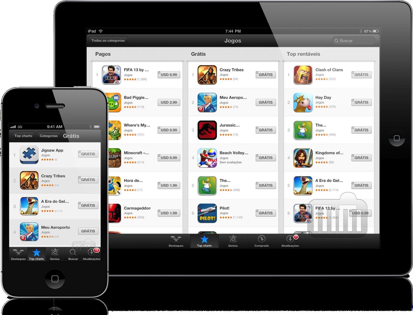 Top grátis na App Store