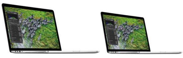 """MacBooks Pro de 15"""" e 13"""" com tela Retina"""