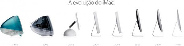 Evolução do iMac