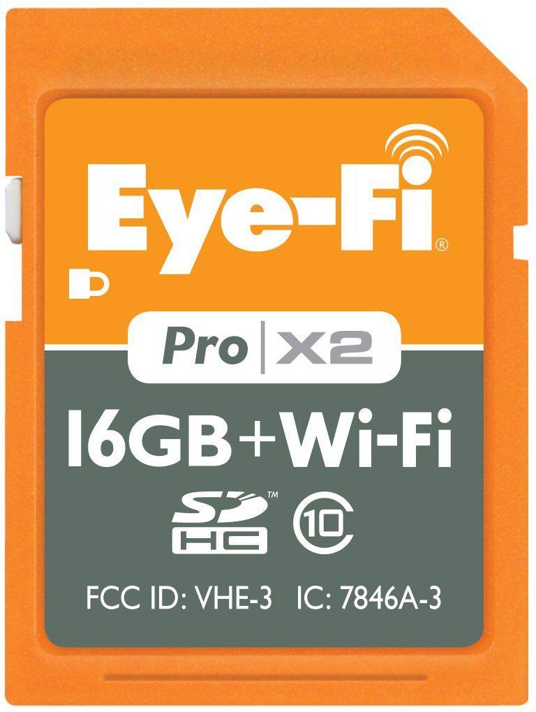 Cartão Eye-Fi Pro X2 16GB