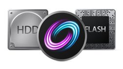 Ícones - Fusion Drive, HDD e SSD