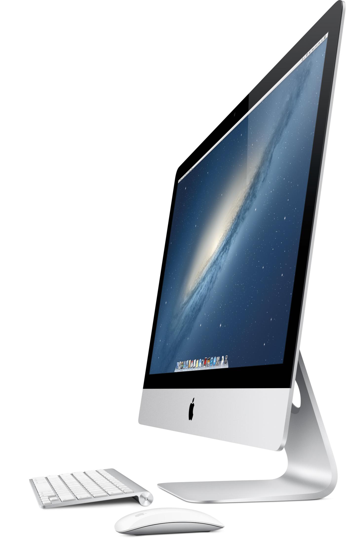 Novo iMac um pouco de lado