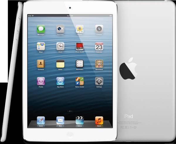 iPads mini de frente