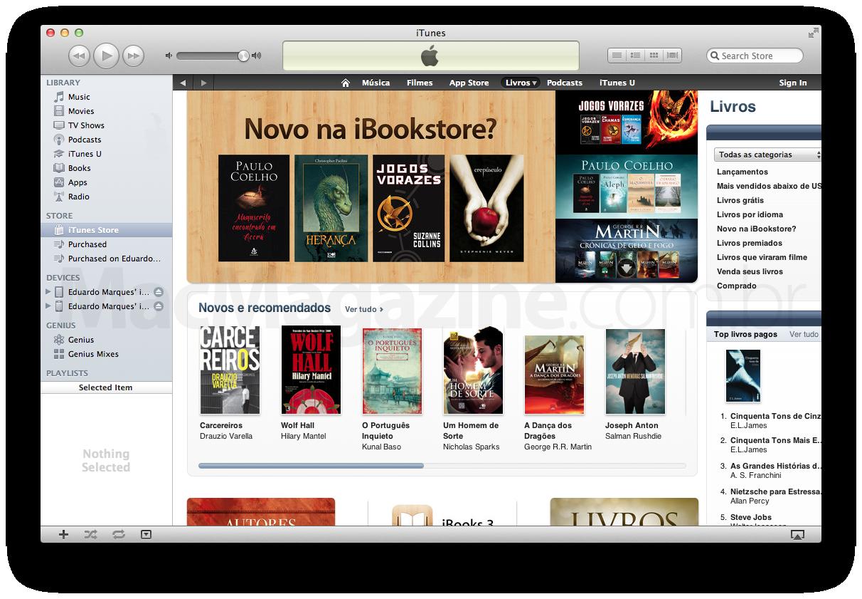 iBookstore brasileira inaugurada