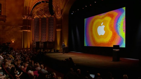 Apple na keynote do iPad mini