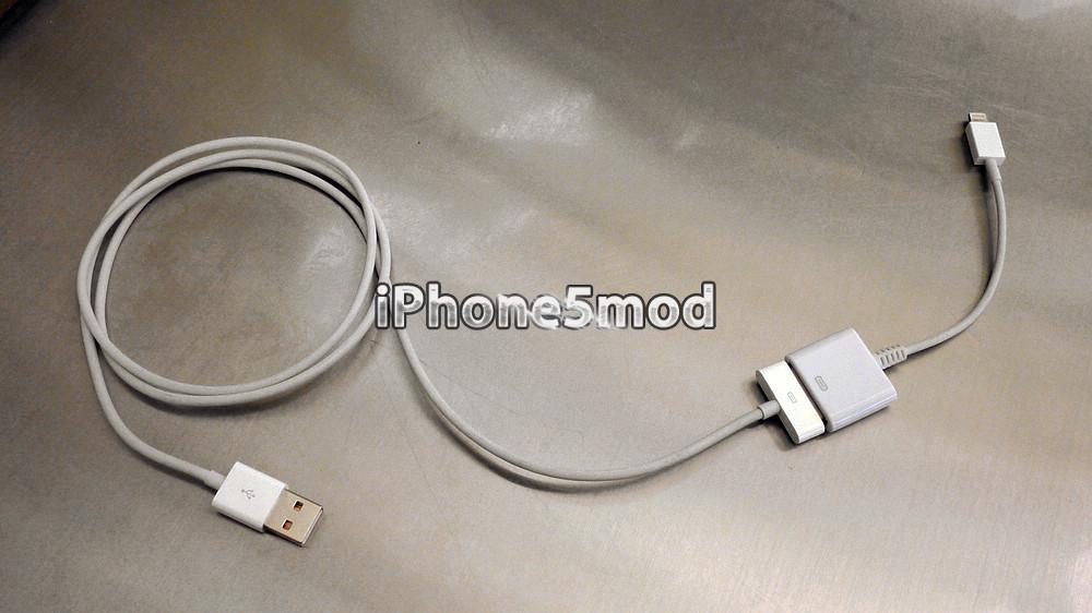 Adaptador para Lightning da iPhone5mod