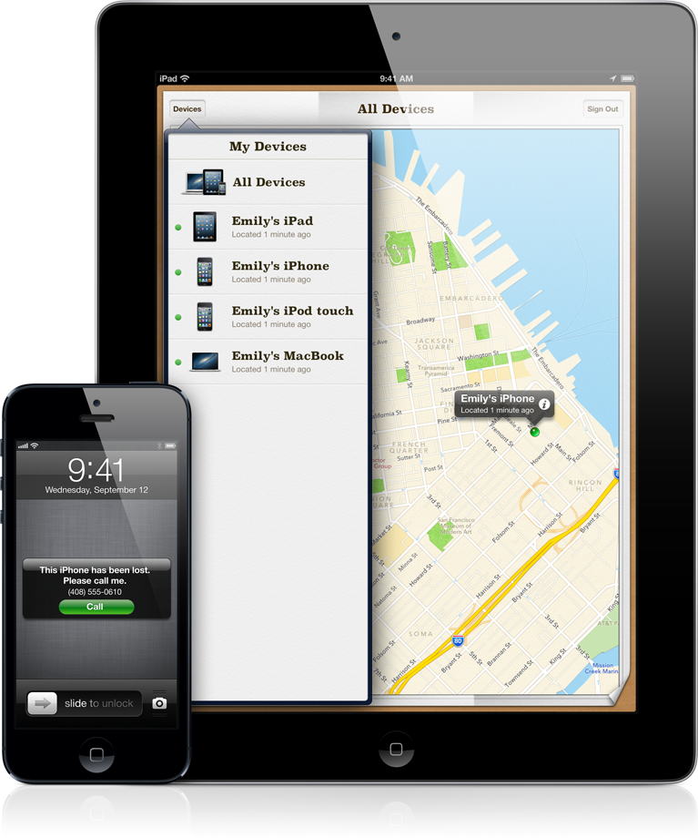 Find my iPhone - iPad e iPhone