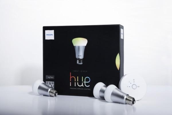 hue, lâmpada controlável da Philips