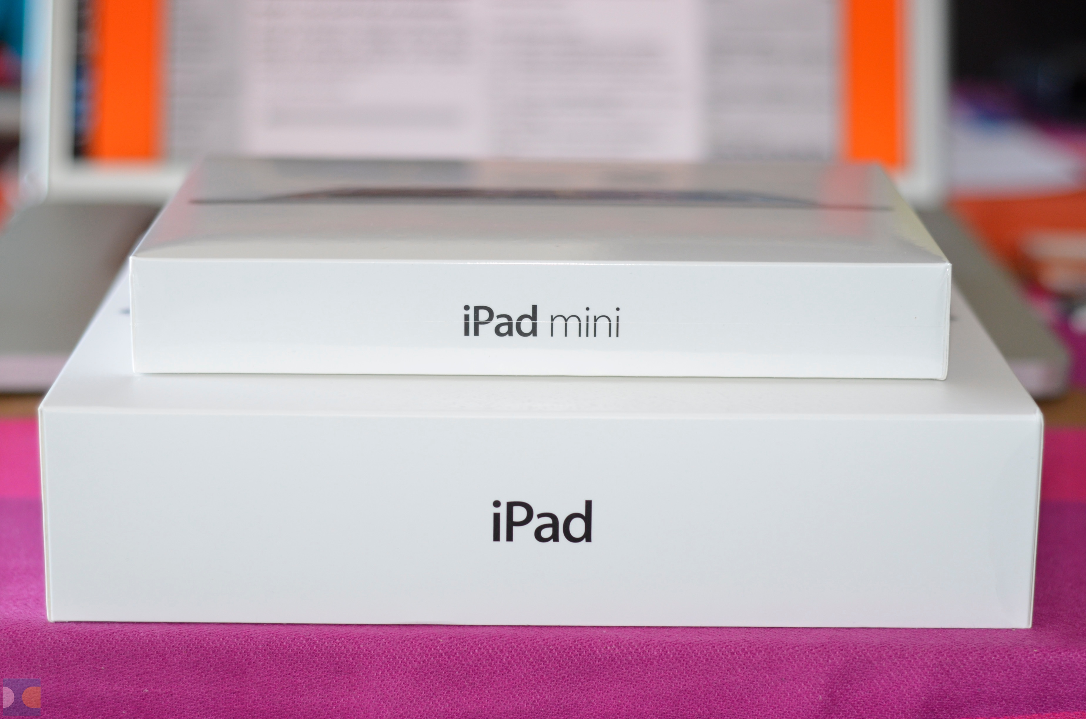 iPad mini entregue antes da hora