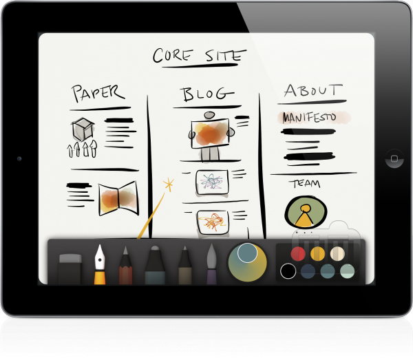 Paper by FiftyThree (iPad)