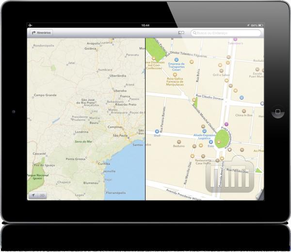 Mapas do iOS 6 Offline