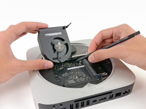 Mac mini desmontado pela iFixit