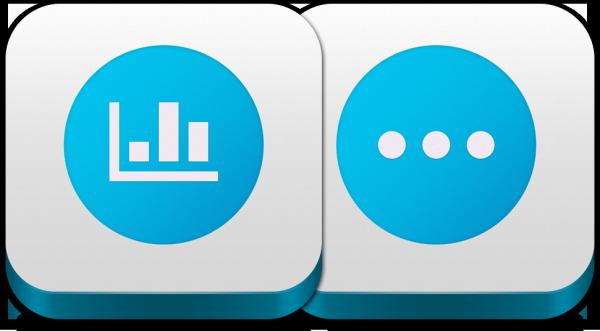 Ícones dos apps da Onavo
