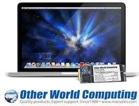 OWC Aura Pro para MacBooks Pro