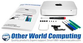 OWC Data Doubler para Macs mini