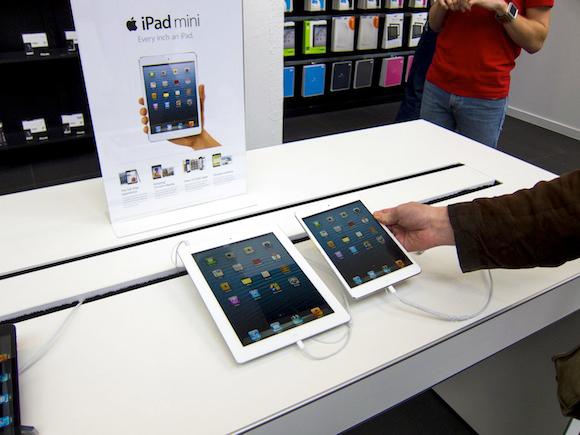 iPad mini à venda na Nova Zelândia