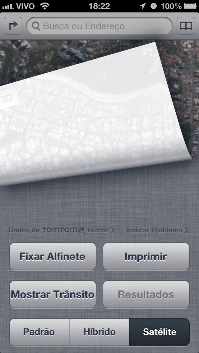 Mapas no iOS 6.0.1
