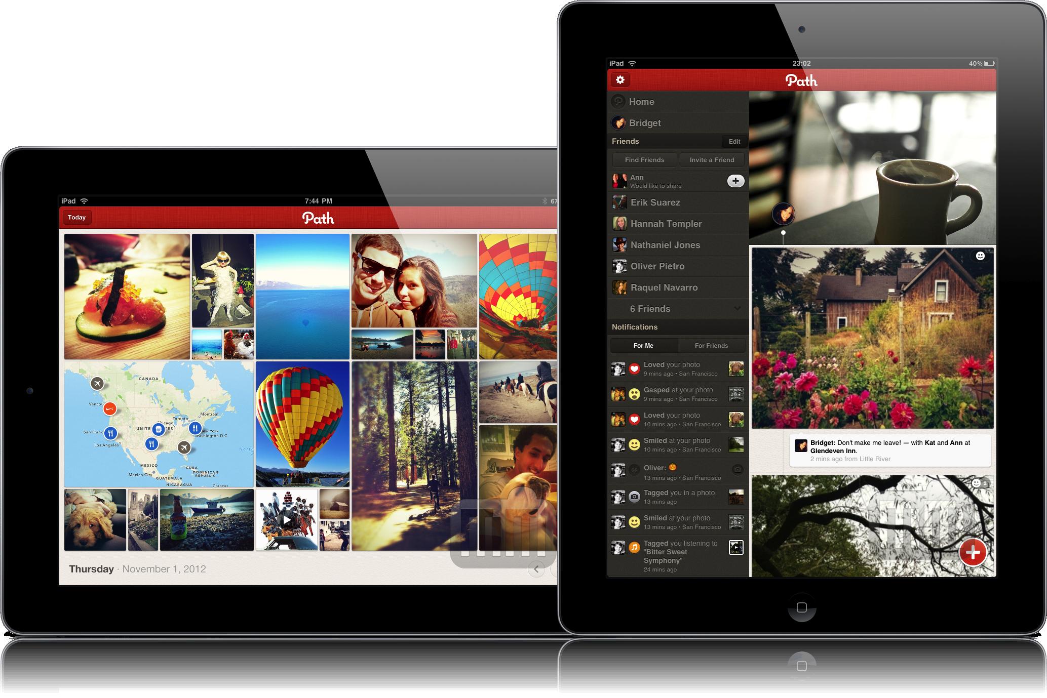 Path em iPads
