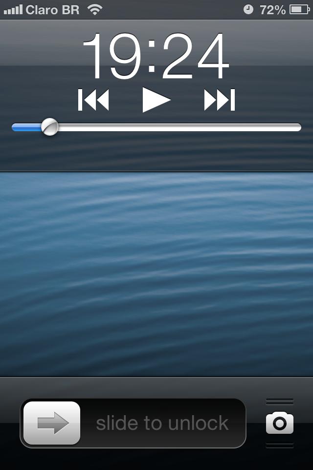Tela bloqueada no iOS 6.0.1