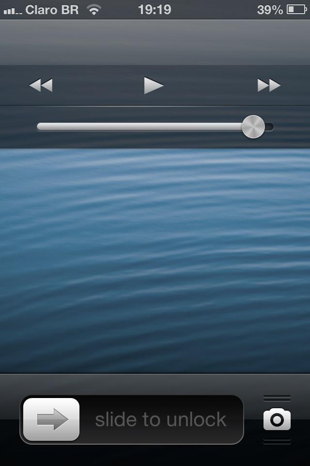 Tela bloqueada no iOS 6.1