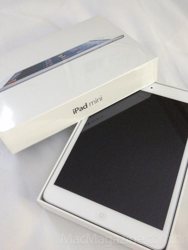 Unboxing do iPad mini