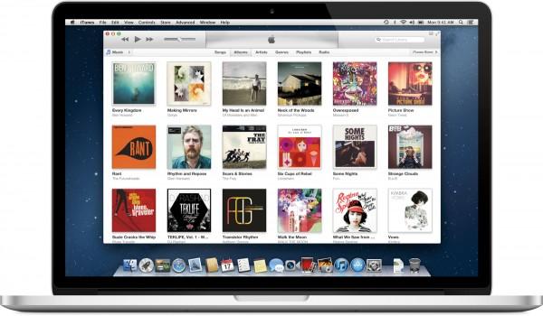iTunes Store do iTunes 11 num MacBook Pro Retina