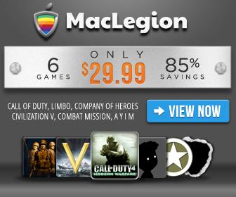 MacLegion Game Bundle 2012