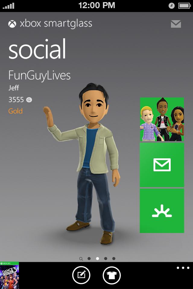 Xbox SmartGlass - iPhone