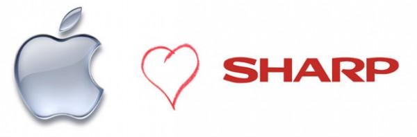 Apple e Sharp