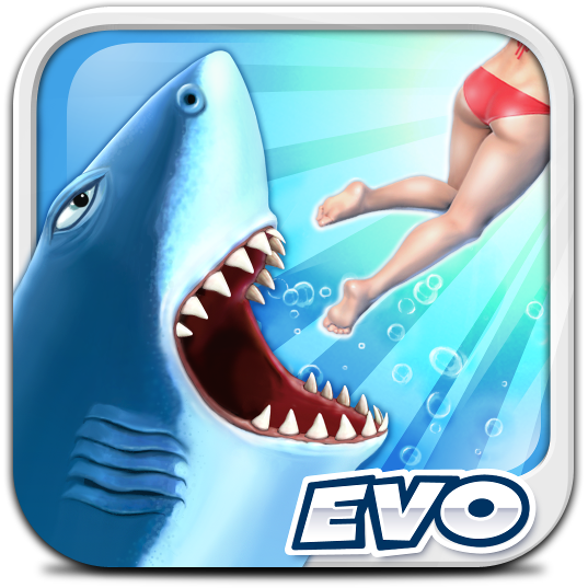 Ícone do jogo Hungry Shark Evolution