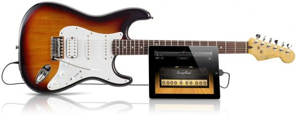Guitarra da Squier compatível com iGadgets e Macs