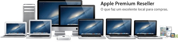 Família de produtos Apple - Apple Premium Reseller