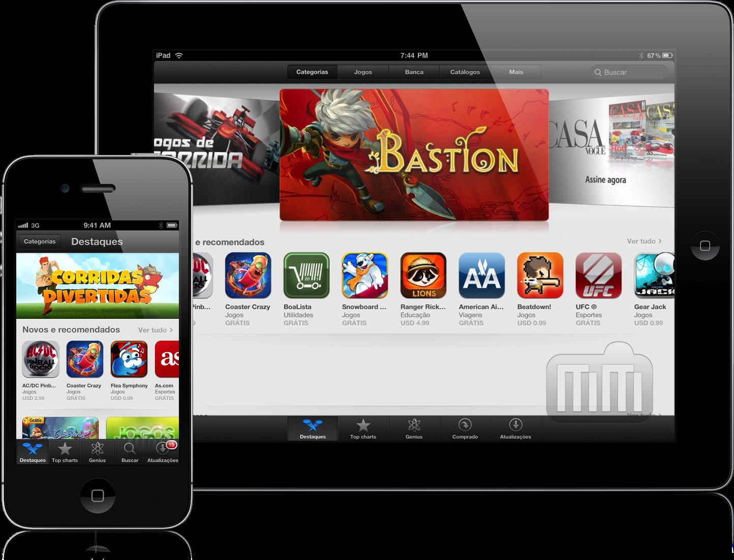 Destaques da App Store