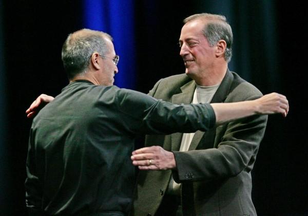 Steve Jobs e Paul Otellini