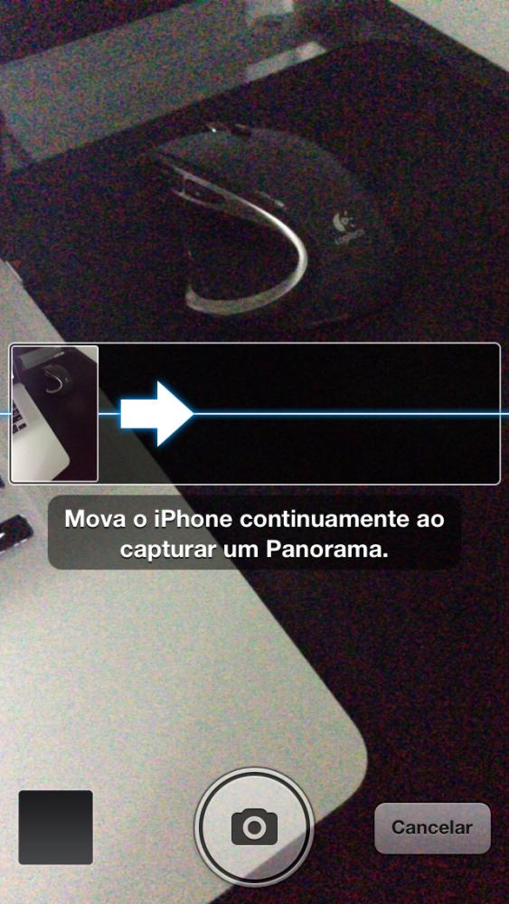 Modo panorama no iPhone 5