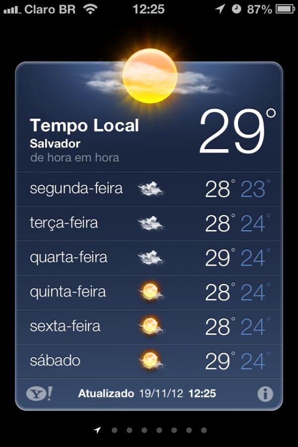 Screenshot do iPhone 4S